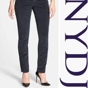 NYDJ 'Jade' Houndstooth Skinny Corduroy Leggings